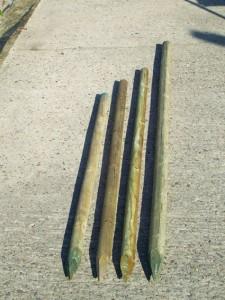 Houten Boompalen